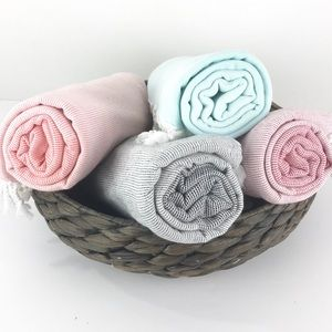 Set Of 4*       Turkish Cotton Beach Towel
